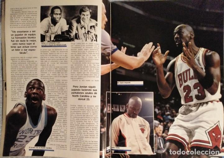 Coleccionismo deportivo: Michael Jordan - Revista XXL Basket (1996) - NBA - Foto 4 - 50337559