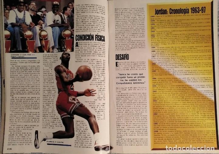 Coleccionismo deportivo: Michael Jordan - Revista XXL Basket (1996) - NBA - Foto 5 - 50337559
