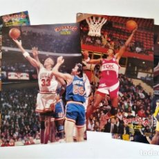 Coleccionismo deportivo: PÓSTERS NBA / ACB - SCOTTIE PIPPEN / BRANCH / SINGLETON / RAY SMITH ~ REVISTA GIGANTES DEL BASKET. Lote 206587791