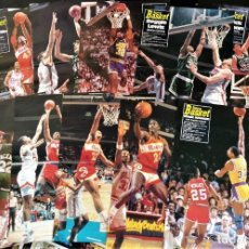 Coleccionismo deportivo: 14 PÓSTERS NBA (REVISTA SUPERBASKET) - MAGIC, EWING, DOMINIQUE, MALONE, RIVERS, LEWIS ~ AÑOS 90. Lote 206588276