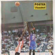Coleccionismo deportivo: PÓSTER MICHAEL JORDAN FIESTA ACB ~ REVISTA DON BASKET (1990). Lote 206589303
