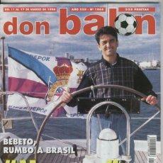 Coleccionismo deportivo: DON BALON NUMERO 1065. Lote 206593550