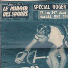 Coleccionismo deportivo: REVISTA DEPORTIVA LE MIROIR DES SPORTS SEPTIEMBRE 1958. Lote 206759020