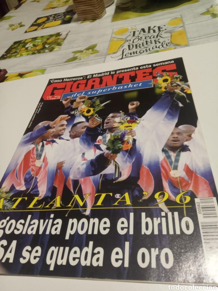 GIGANTES DEL BASKET N 562 (Coleccionismo Deportivo - Revistas y Periódicos - otros Deportes)