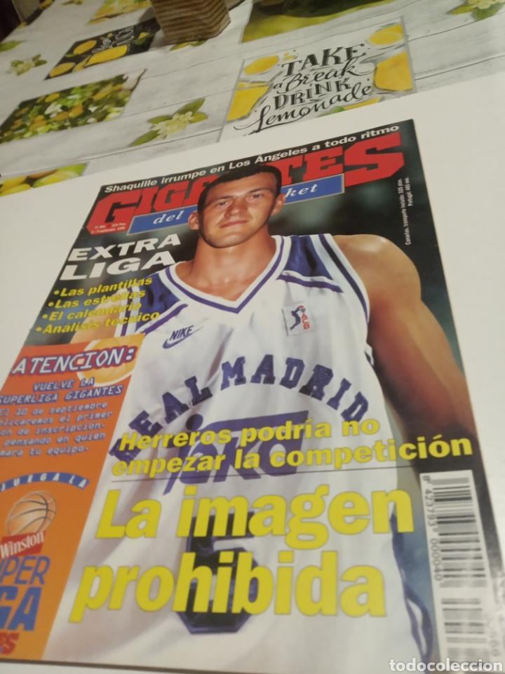 GIGANTES DEL BASKET N 566 (Coleccionismo Deportivo - Revistas y Periódicos - otros Deportes)