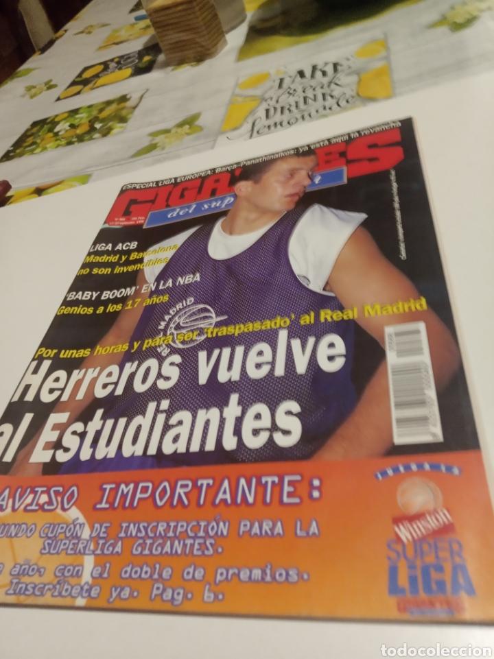 GIGANTES DEL BASKET N 568 (Coleccionismo Deportivo - Revistas y Periódicos - otros Deportes)