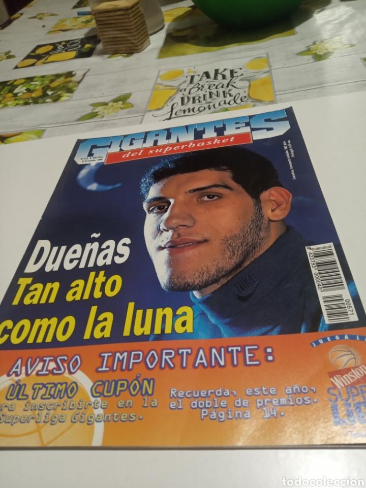 GIGANTES DEL BASKET N 571 (Coleccionismo Deportivo - Revistas y Periódicos - otros Deportes)