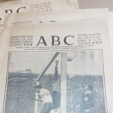 Coleccionismo deportivo: PORTADA ABC PARTIDO FUTBOL SELECCION CATALANA CONTRA VASCA 1924. Lote 207019780