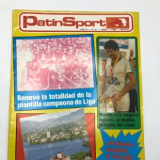 Coleccionismo deportivo: REVISTA PATÍN SPORT HOCKEY PATINES NÚMERO 51 ABRIL 1984 AULADELL MARTINAZZO. Lote 207090581