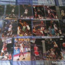 Coleccionismo deportivo: MINIPOSTERS Y FOTOS MICHAEL JORDAN. Lote 207129065