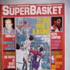 Coleccionismo deportivo: REVISTA DEPORTIVA SUPERBASKET NUMERO 4 -JUNIO 1986. Lote 207279410