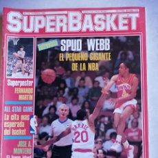 Coleccionismo deportivo: REVISTA DEPORTIVA SUPERBASKET NUMERO 12 -FEBRERO 1987. Lote 207279863