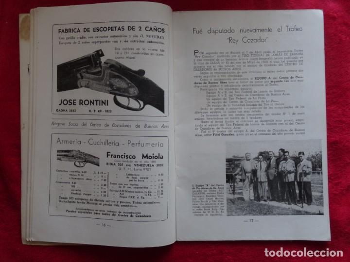 Coleccionismo deportivo: REVISTA DE CAZA, TIRO, CANINA Y PESCA, DIANA Nº 77 ARGENTINA MAYO 1946 - Foto 3 - 207473686