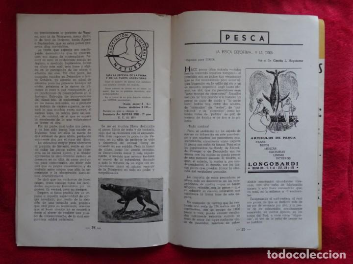 Coleccionismo deportivo: REVISTA DE CAZA, TIRO, CANINA Y PESCA, DIANA Nº 77 ARGENTINA MAYO 1946 - Foto 6 - 207473686