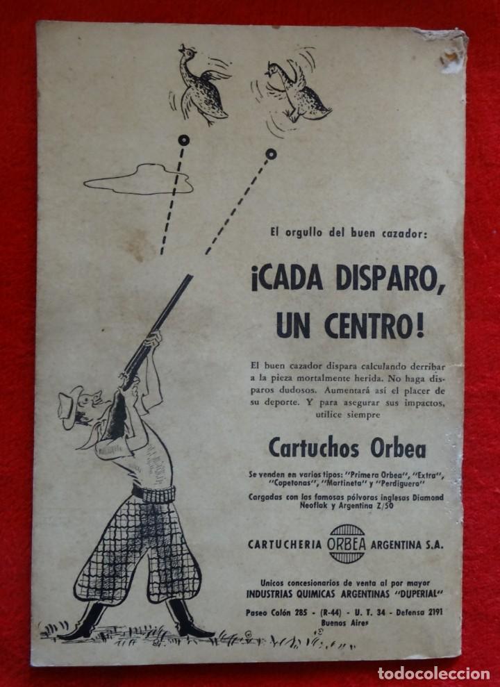 Coleccionismo deportivo: REVISTA DE CAZA, TIRO, CANINA Y PESCA, DIANA Nº 77 ARGENTINA MAYO 1946 - Foto 7 - 207473686