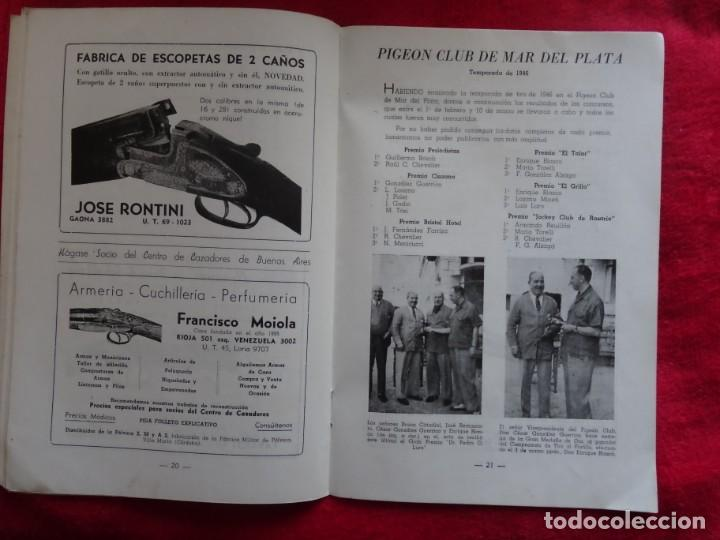 Coleccionismo deportivo: REVISTA DE CAZA, TIRO, CANINA Y PESCA, DIANA Nº 76 ARGENTINA ABRIL 1946 - Foto 5 - 207474083