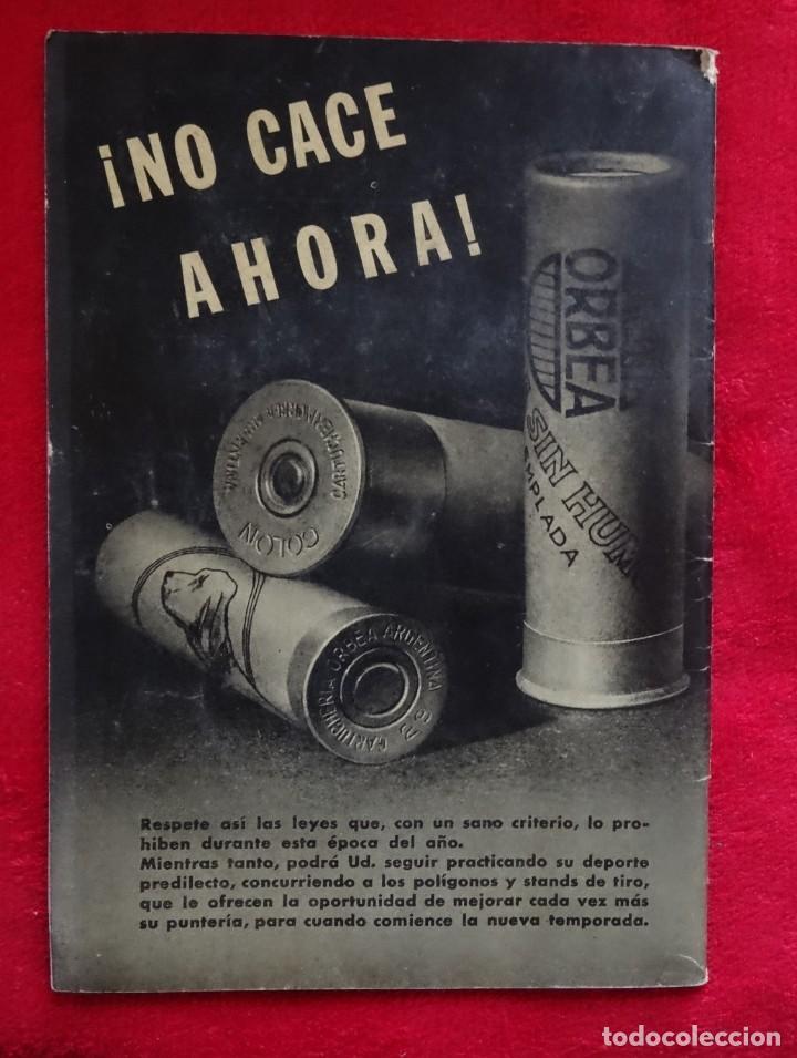 Coleccionismo deportivo: REVISTA DE CAZA, TIRO, CANINA Y PESCA, DIANA Nº 76 ARGENTINA ABRIL 1946 - Foto 7 - 207474083