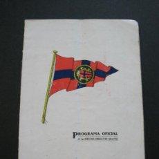 Coleccionismo deportivo: PROGRAMA OFICIAL FIESTAS Y REGATAS-AÑO 1927-VER FOTOS-(V-20.428). Lote 207663893