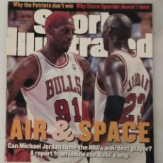 Coleccionismo deportivo: MICHAEL JORDAN - REVISTA ''SPORTS ILLUSTRATED'' - OCTUBRE DE 1995 - NBA. Lote 46124172