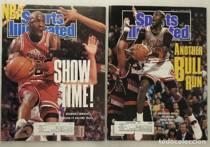 MICHAEL JORDAN & CHICAGO BULLS - DOS REVISTAS ''SPORTS ILLUSTRATED'' (1990) - NBA (Coleccionismo Deportivo - Revistas y Periódicos - otros Deportes)