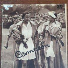 Collectionnisme sportif: 34105 - REVISTA - CAMPEON - 23 DE JUNIO DEL 1935. Lote 208209563