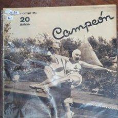 Collectionnisme sportif: 34138 - REVISTA - CAMPEON - 6 DE OCTUBRE DE 1935. Lote 208210845