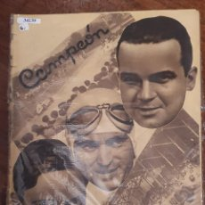 Collectionnisme sportif: 34139 - REVISTA - CAMPEON - 29 DE SEPTIEMBRE DE 1935. Lote 208210880