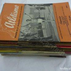 Coleccionismo deportivo: BOLETIN FEDERACION CATALANA ATLETISMO. LOTE DE 67 REVISTAS ENTRE Nº 1 Y 223. (1944-1961). Lote 208287371