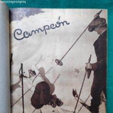 Collectionnisme sportif: REVISTA CAMPEÓN 1936 ÉPOCA REPÚBLICA. Lote 208483013