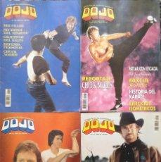 Coleccionismo deportivo: CHUCK NORRIS - CUATRO REVISTAS DE ARTES MARCIALES ''DOJO''. Lote 176394248