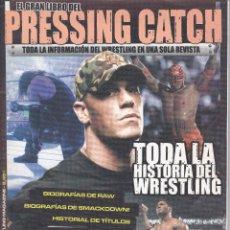 Coleccionismo deportivo: EL GRAN LIBRO PRESSING CATCH, ANUARIO/REVISTA DIFICIL DE ENCONTRAR. Lote 208681232