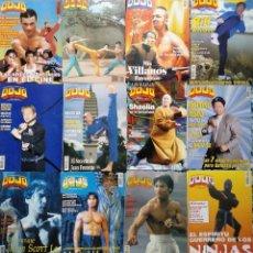 Coleccionismo deportivo: LOTE DE 20 REVISTAS DE ARTES MARCIALES ''DOJO''. Lote 194096947