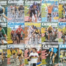 Coleccionismo deportivo: REVISTA CICLISMO A FONDO COLECCION COMPLETA Nº 1 AL 100 SIN ENCUADERNAR LOTE CIEN PRIMERAS REVISTAS. Lote 208916801