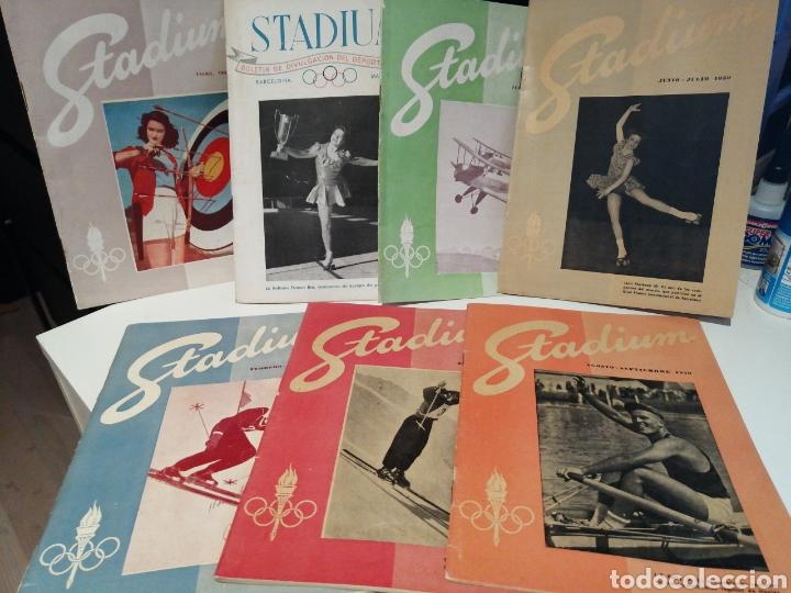 REVISTA STADIUM DIVULGACION DEL DEPORTE OLIMPICO 1949/51 LEER DESCRIPCION (Coleccionismo Deportivo - Revistas y Periódicos - otros Deportes)