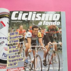 Coleccionismo deportivo: REVISTA CICLISMO A FONDO Nº 151 1997 INCLUYE REPRODUCCION FACSIMIL Nº 2 DE 1985. Lote 209257551