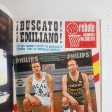 Coleccionismo deportivo: REVISTA REBOTE - TOMO DE OCTUBRE 1972 A OCTUBRE NOVIEMBRE 1973 - Nº 137 A Nº 148. Lote 209562823