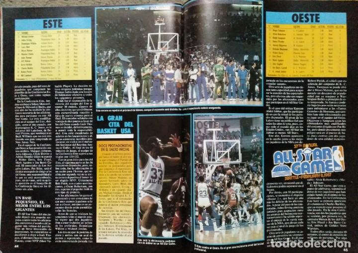 Coleccionismo deportivo: Colección de 115 de las 131 primeras revistas Gigantes del Basket (1985-88) + Especial Jordan - Foto 4 - 162988738