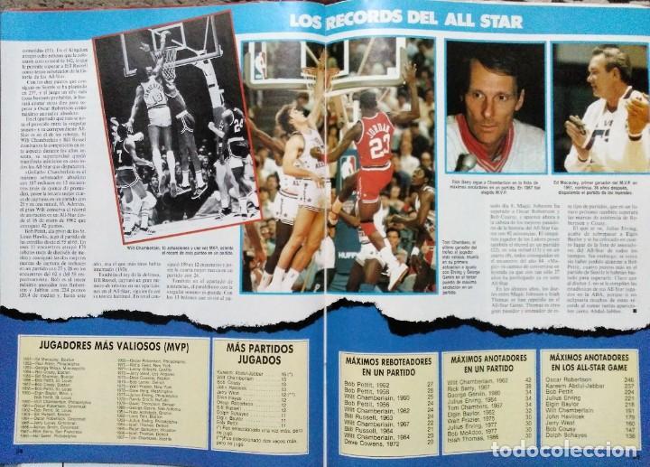 Coleccionismo deportivo: Colección de 115 de las 131 primeras revistas Gigantes del Basket (1985-88) + Especial Jordan - Foto 5 - 162988738