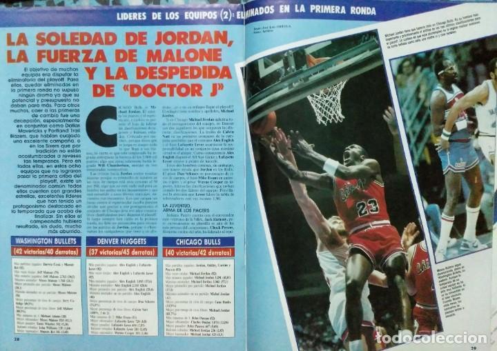 Coleccionismo deportivo: Colección de 115 de las 131 primeras revistas Gigantes del Basket (1985-88) + Especial Jordan - Foto 7 - 162988738