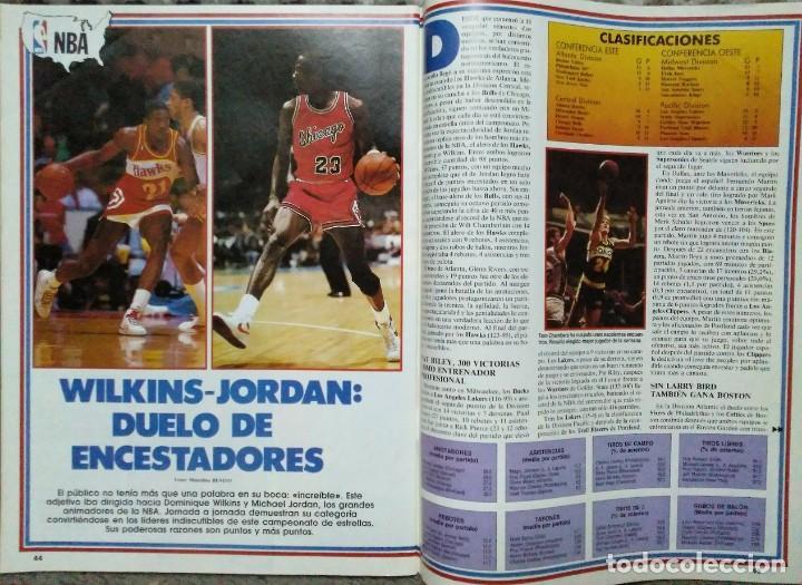 Coleccionismo deportivo: Colección de 115 de las 131 primeras revistas Gigantes del Basket (1985-88) + Especial Jordan - Foto 9 - 162988738
