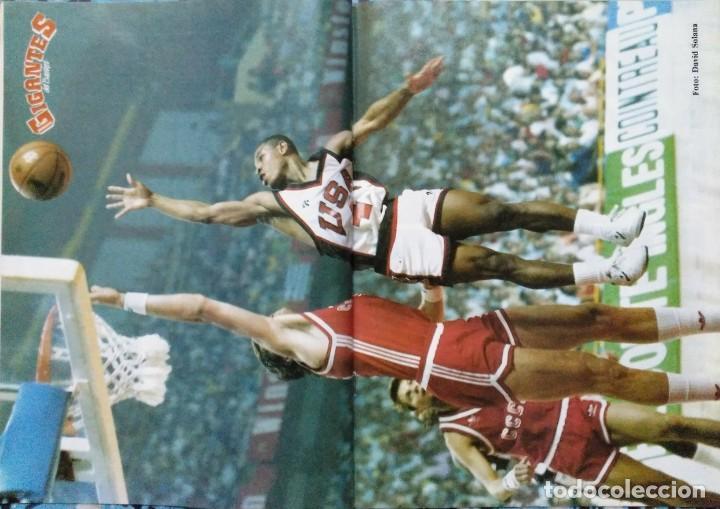 Coleccionismo deportivo: Colección de 115 de las 131 primeras revistas Gigantes del Basket (1985-88) + Especial Jordan - Foto 11 - 162988738