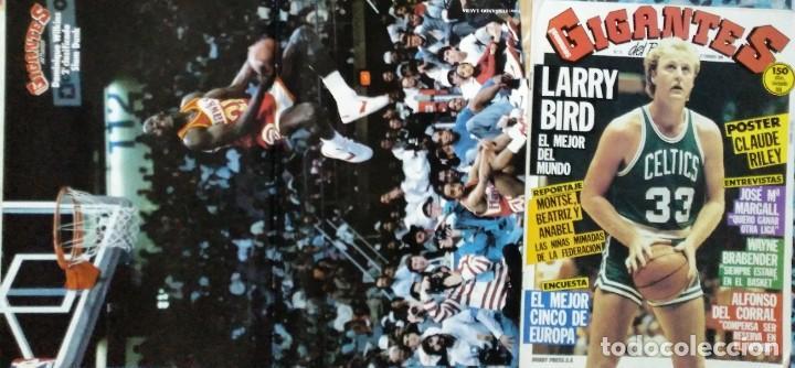Coleccionismo deportivo: Colección de 115 de las 131 primeras revistas Gigantes del Basket (1985-88) + Especial Jordan - Foto 12 - 162988738