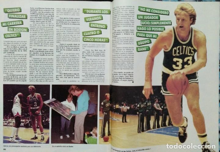 Coleccionismo deportivo: Colección de 115 de las 131 primeras revistas Gigantes del Basket (1985-88) + Especial Jordan - Foto 13 - 162988738
