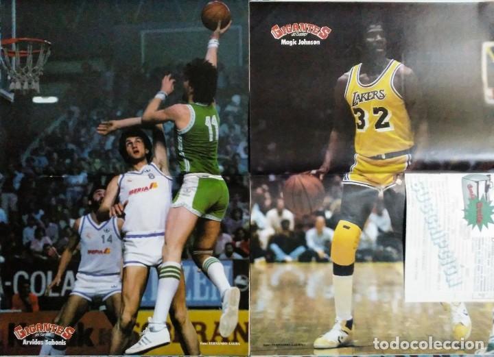 Coleccionismo deportivo: Colección de 115 de las 131 primeras revistas Gigantes del Basket (1985-88) + Especial Jordan - Foto 15 - 162988738