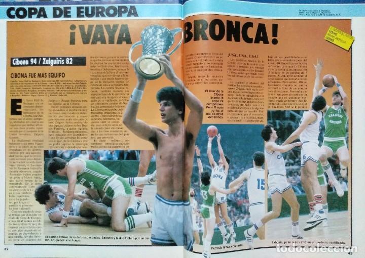 Coleccionismo deportivo: Colección de 115 de las 131 primeras revistas Gigantes del Basket (1985-88) + Especial Jordan - Foto 17 - 162988738