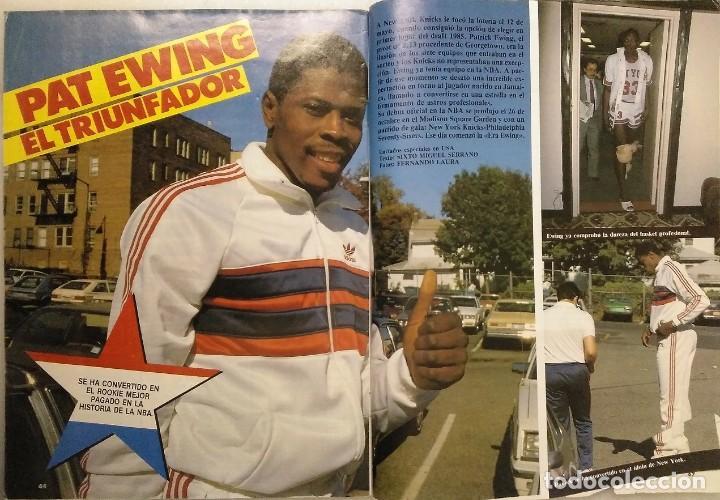 Coleccionismo deportivo: Colección de 115 de las 131 primeras revistas Gigantes del Basket (1985-88) + Especial Jordan - Foto 18 - 162988738