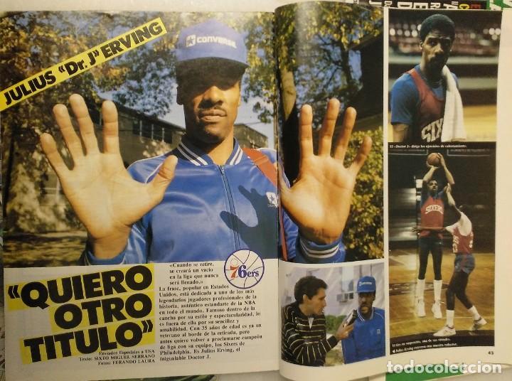Coleccionismo deportivo: Colección de 115 de las 131 primeras revistas Gigantes del Basket (1985-88) + Especial Jordan - Foto 19 - 162988738