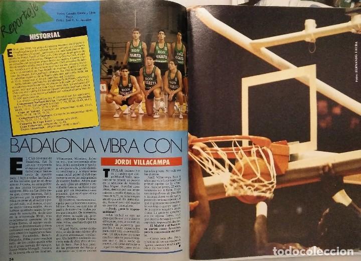 Coleccionismo deportivo: Colección de 115 de las 131 primeras revistas Gigantes del Basket (1985-88) + Especial Jordan - Foto 20 - 162988738