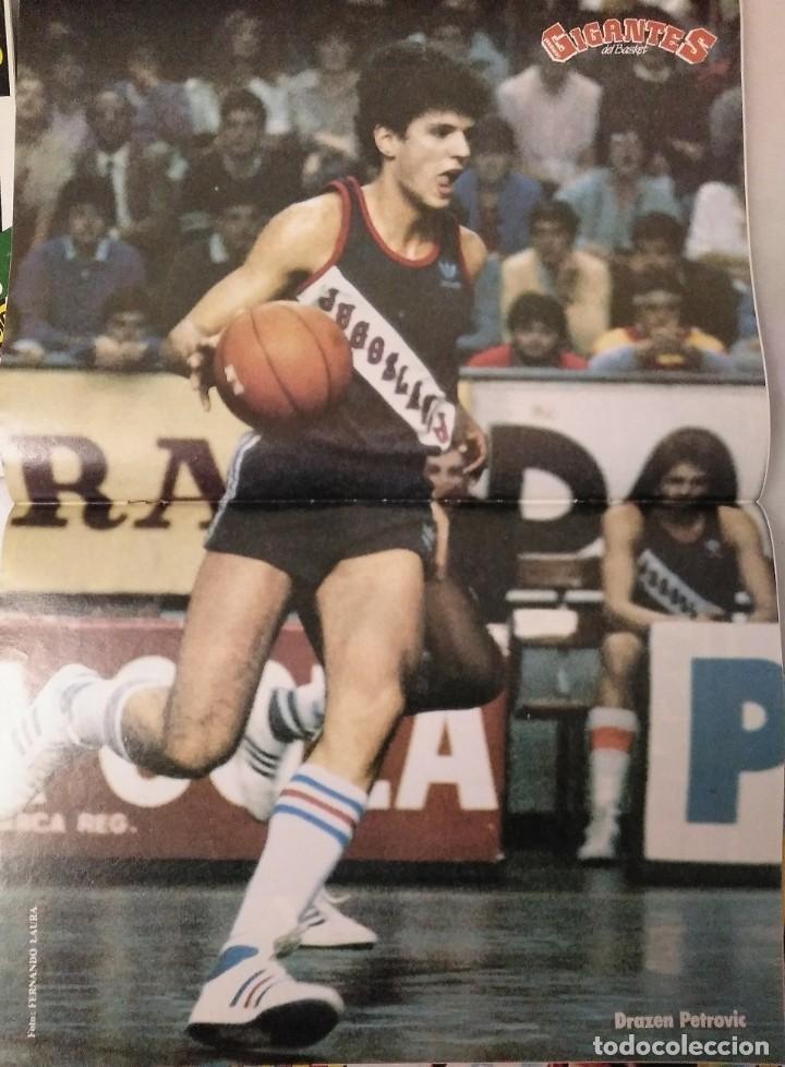 Coleccionismo deportivo: Colección de 115 de las 131 primeras revistas Gigantes del Basket (1985-88) + Especial Jordan - Foto 21 - 162988738