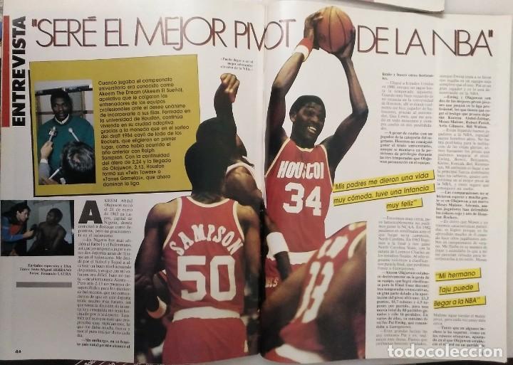Coleccionismo deportivo: Colección de 115 de las 131 primeras revistas Gigantes del Basket (1985-88) + Especial Jordan - Foto 22 - 162988738